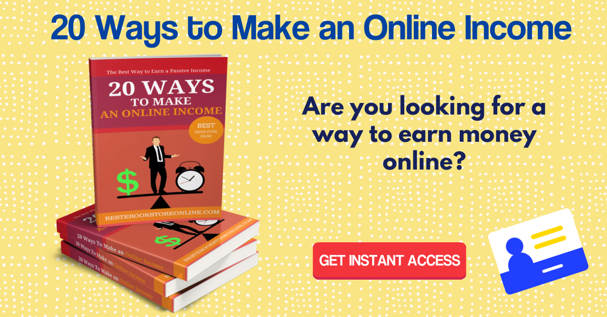 20 Ways to Make an Online Income ebook