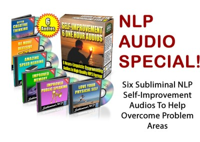 Six Subliminal NLP Self-Improvement Audios