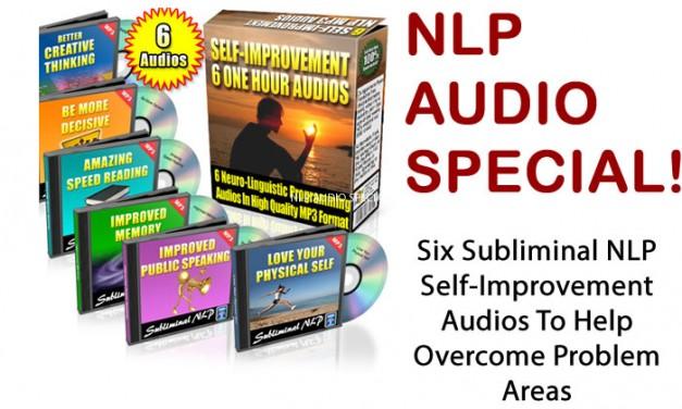 Six Subliminal NLP Self-Improvement Audios