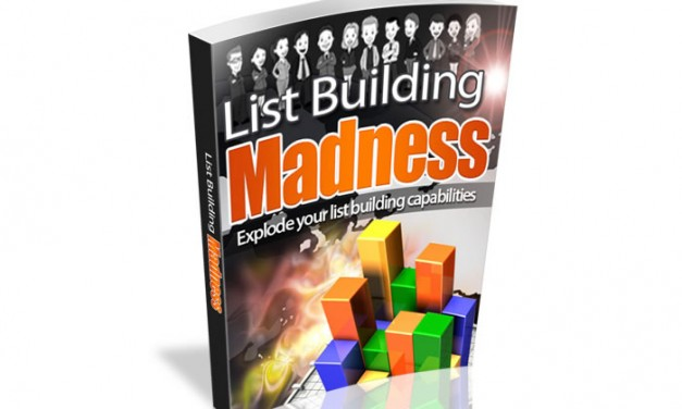 List Building Madness Ebook