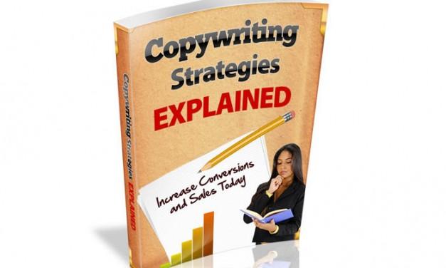 Copywriting Strategies Explained Ebook