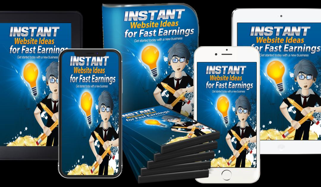 Instant Website Ideas