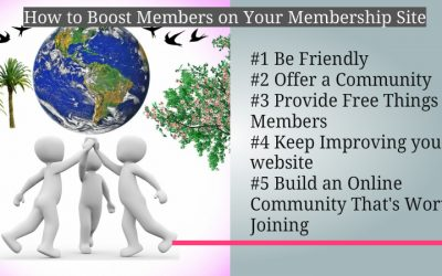 How to Boost Members on Your Membership Site
